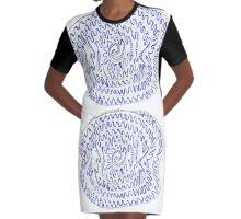 Spiral - Like Life Graphic T-Shirt Dress
