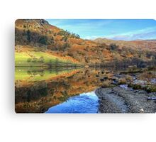 Rydal Water In November Canvas Print