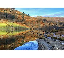 Rydal Water In November Photographic Print