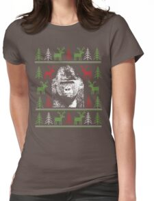 Harambe - Christmas Womens Fitted T-Shirt