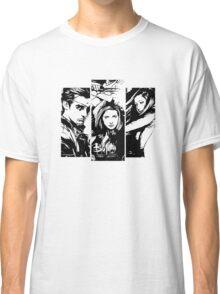 B&W BtVS Trio Classic T-Shirt