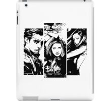 B&W BtVS Trio iPad Case/Skin