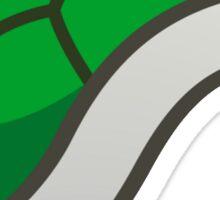 Green Shell Sticker - Paper Mario Sticker Star Sticker