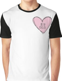 BETH CHILDS HEART Graphic T-Shirt