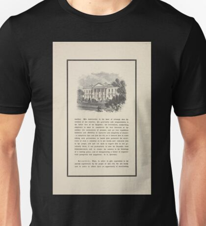305 Message from the mayor and resolutions of the common council with picture of the White House Unisex T-Shirt