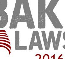 Ginny Baker for President Sticker