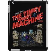 The Timey Wimey Machine iPad Case/Skin