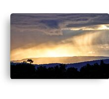 Passing Showers Canvas Print