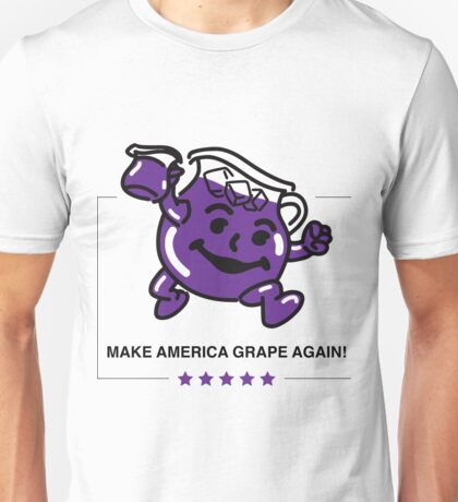 Let's Make America Grape Again Unisex T-Shirt