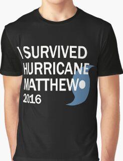Hurricane Matthew 2016 Graphic T-Shirt