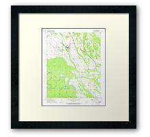 USGS TOPO Map Arkansas AR Holly Grove 258742 1971 24000 Framed Print