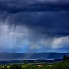 Summer storm over Volvi lake - Thessaloniki by Hercules Milas