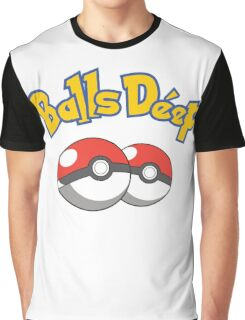 Poke Balls Deep Graphic T-Shirt