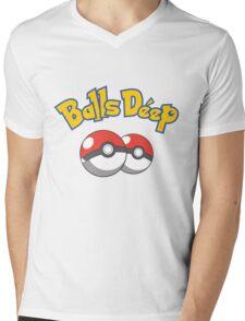 Poke Balls Deep Mens V-Neck T-Shirt