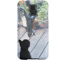 Henry and the Cat Samsung Galaxy Case/Skin