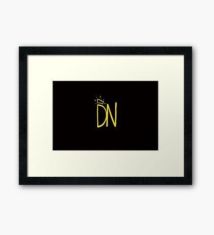 """Don Neil """"DN"""" Framed Print"""