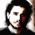 Portrait of Kit Harington   by Andre Martin