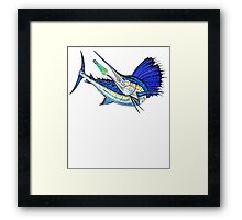 Sport Fishing Framed Print