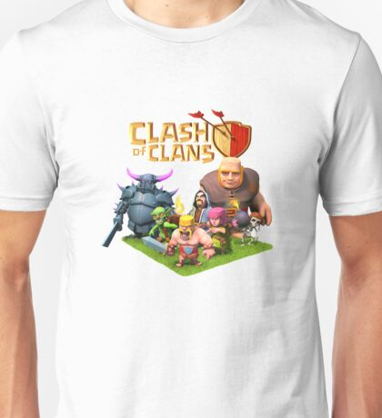 The Strategy Clash of Clans Video Game Unisex T-Shirt