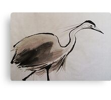 Japanese Crane Canvas Print