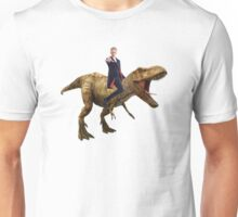Capaldi on a Dinosaur T-Shirt