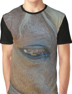 Equus Ferus Caballus - Eye Of The Horse | Center Moriches, New York Graphic T-Shirt