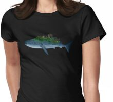 Whale Garden Womens Fitted T-Shirt