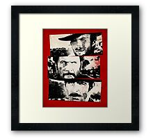 the good,the bad,and the ugly Framed Print