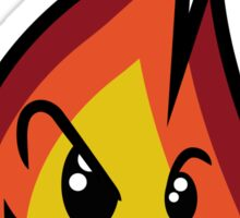 Flame - Cute Monster Sticker