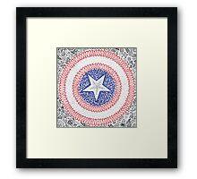 A Marvelous Captain Framed Print