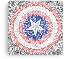 A Marvelous Captain Canvas Print