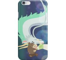 Spirited Away - Chihiro and Haku iPhone Case/Skin