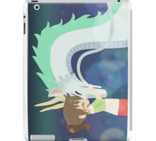 Spirited Away - Chihiro and Haku iPad Case/Skin