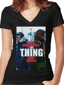THE THING 23 Women's Fitted V-Neck T-Shirt