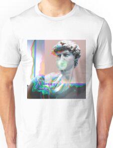 Vaporwave Glitch Aesthetics Unisex T-Shirt