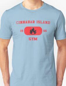 Cinnabar Island Gym Unisex T-Shirt