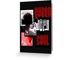 Queen Of Soul Greeting Card