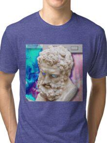 Vaporwave glitch Tri-blend T-Shirt