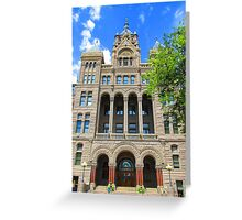 SLC City and County Building Greeting Card