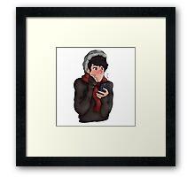 A Fall Keith! - Voltron - Framed Print