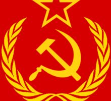Soviet Flag Sticker