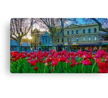 Sunrise over Pall Mall Canvas Print