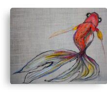 Goldfish Pond (close up #2) Canvas Print
