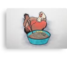 Chicken And Ramen 1 Canvas Print