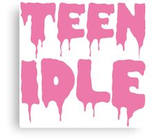 Marina and The Diamonds - Teen Idle (Pink) Canvas Print