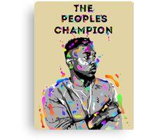 Kendrick Lamar Design Canvas Print