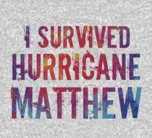 I Survived Hurricane Matthew  Kids Tee