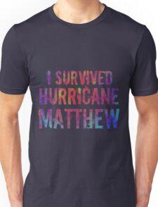 I Survived Hurricane Matthew  Unisex T-Shirt