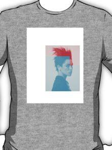 F-Girl on Colour T-Shirt