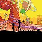 Interdimensional Rick and Morty by FlyNebula